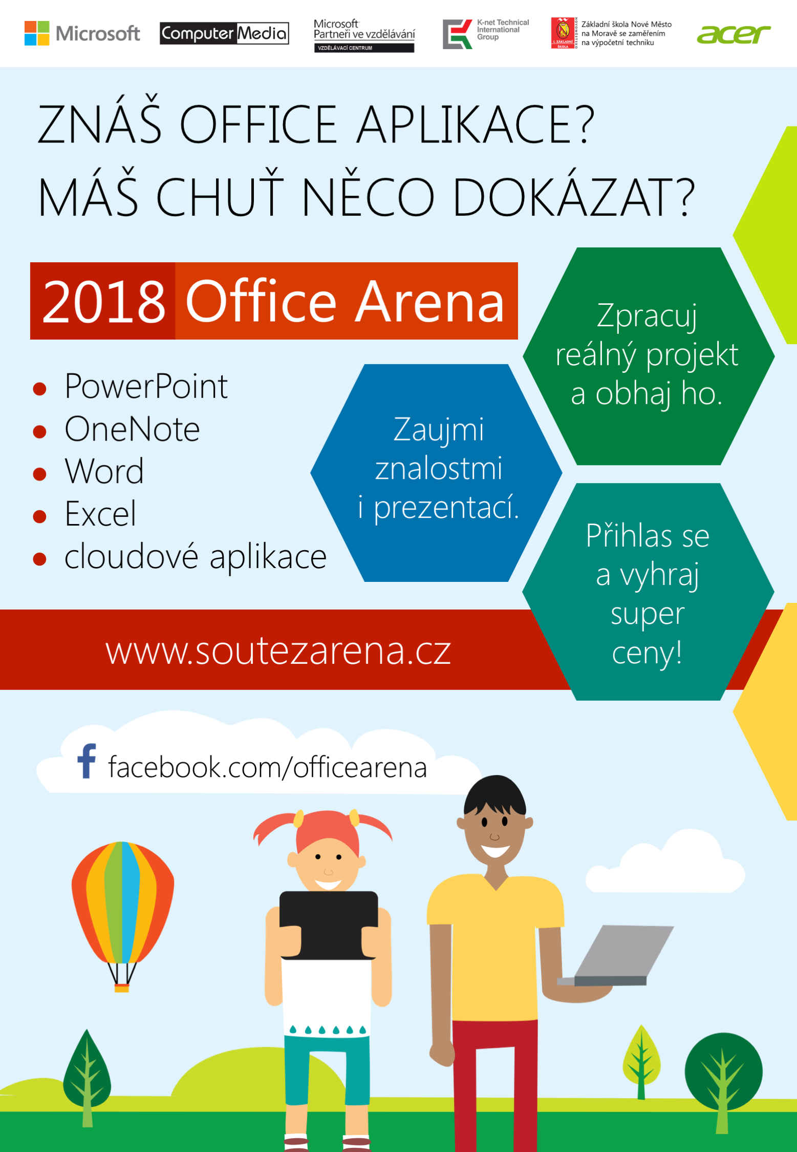 Plakat Office Arena 2018 A4
